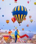Hãy cầu hôn em ở xứ sở khinh khí cầu Cappadocia – Thổ Nhĩ Kỳ