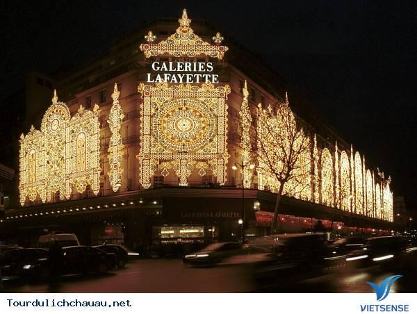 Galeries Lafayette Haussmann - Pháp,galeries lafayette haussmann  phap