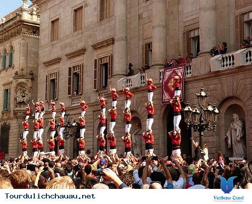 Lễ hội La Merce ở Tây Ban Nha